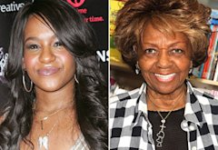 Bobbi-Kristina, Cissy Houston | Photo Credits: Jim Spellman/WireImage; Manny Carabel/Getty Images