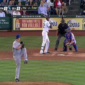 Cano breaks up perfect game