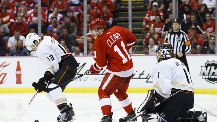 NHL: Stanley Cup Playoffs-Anaheim Ducks at Detroit Red Wings