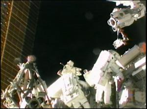 Spacewalkers Overcome Stuck Bolt to Fix Space Station Power System