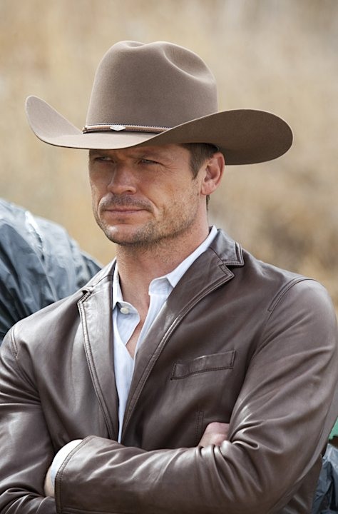 "Bailey Chase stars as Butch Ada in  ""Saving Grace."""