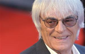 Bernie Ecclestone arrives at the world premiere of Rush at a cinema in Leicester Square, central London