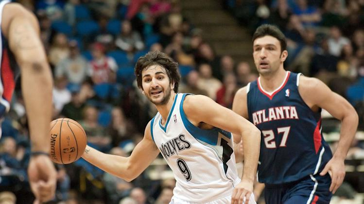 NBA: Atlanta Hawks at Minnesota Timberwolves