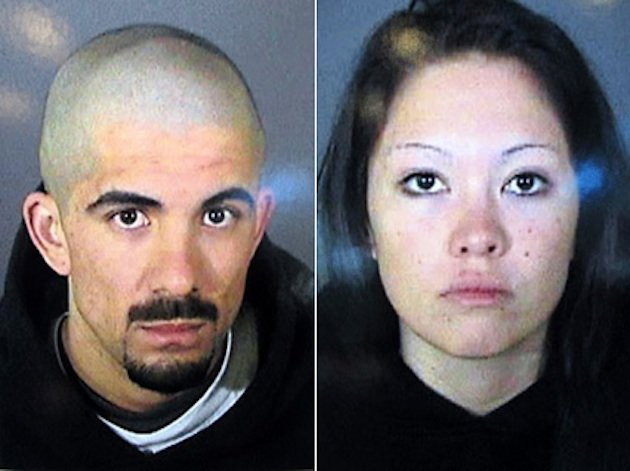 Jason Shumann and Elizabeth Ibarra — Los Angeles Police