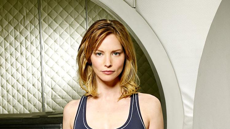 "Sienna Guillory as Rika Goddard in ""Virtuality."""