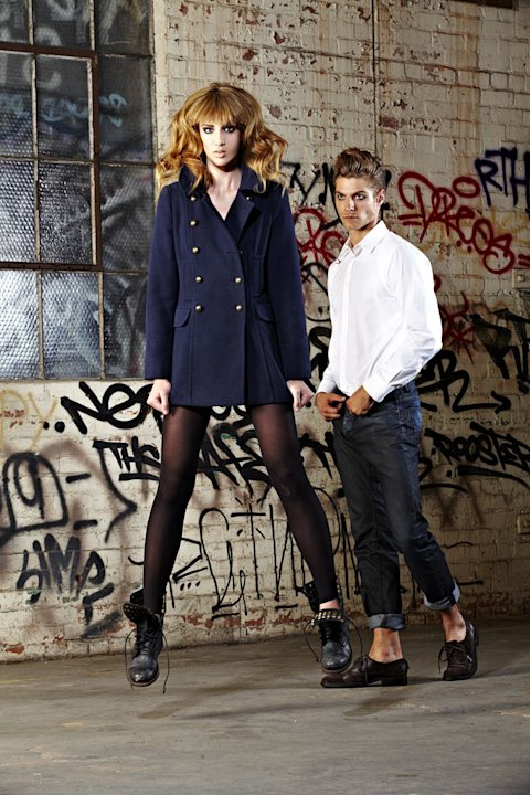 "Kyle in a photo shoot on ""America's Next Top Model."""