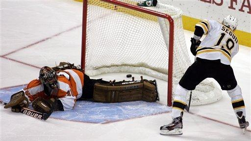 Bruins beat Flyers on Seguin's shootout goal