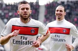 Rennes 0-2 Paris Saint-Germain: Menez and Ibrahimovic restore seven-point advantage