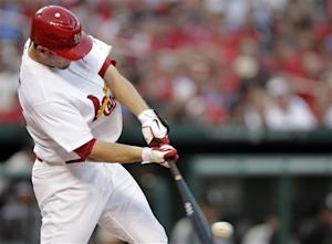 Freese drives in three runs in Cardinals victory