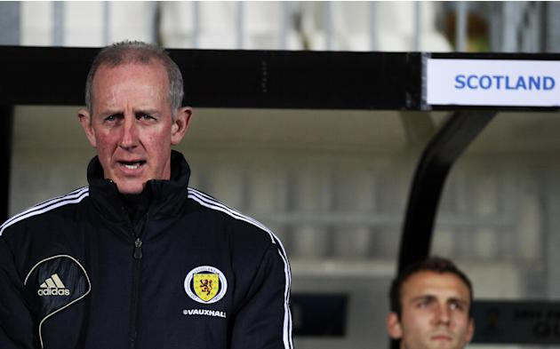 Billy Stark admitted Scotland had failed to build on their bright start against Luxembourg
