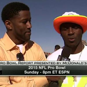 Antonio Brown on team Cris Carter: 'I think we have a great team'
