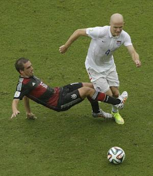 Bradley says no satisfaction yet for US WCup team