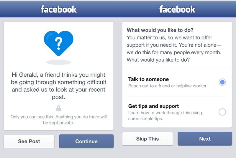 Facebook adds new tools for suicide prevention