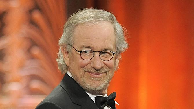 "FILE - This June 7, 2012 file photo shows director Steven Spielberg at the AFI Life Achievement Award Honoring Shirley MacLaine at Sony Studios in Culver City, Calif.  Spielberg was nominated  for an Academy Award for best director on Thursday, Jan. 10, 2013, for ""Lincoln.""  The 85th Academy Awards will air live on Sunday, Feb. 24, 2013 on ABC.  (Photo by Chris Pizzello/Invision/AP, file)"