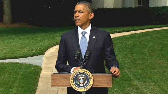 President Obama On Russian Separatists: 'What Exactly Are They Trying To Hide'