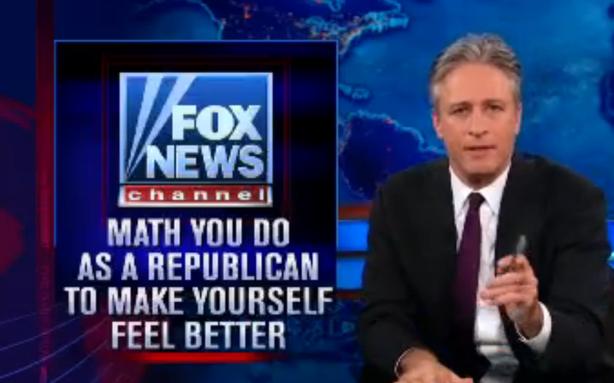 Latest Megyn Kelly Poll: Jon Stewart 100, Karl Rove's Republican Math 0