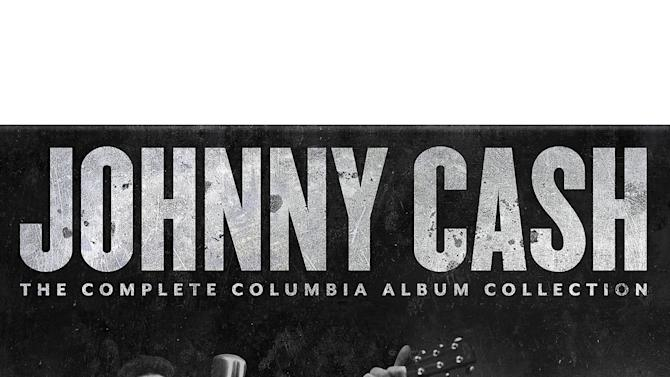 """This cover image released by Columbia/Legacy shows a box set for """"Johnny Cash, """"The Complete Columbia Album Collection."""" (AP Photo/Columbia/Legacy)"""