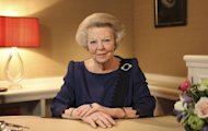 Dutch Queen Beatrix announces her abdication in favour of her son, Prince Willem-Alexander, in a hastily announced broadcast on Dutch National Television to the nation at her home palace in The Hague in this handout picture dated January 28 2013. Picture: REUTERS