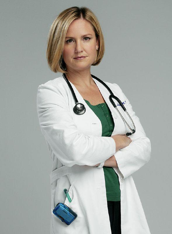 Sherry Stringfield as Dr. Susan Lewis in ER on NBC