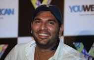 India selected cancer survivor Yuvraj Singh, seen here in July 2012, for the World Twenty20 in Sri Lanka, four months after he was treated for a rare tumour between his lungs