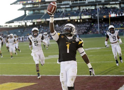 Arizona St. beats Navy 62-28 in Fight Hunger Bowl