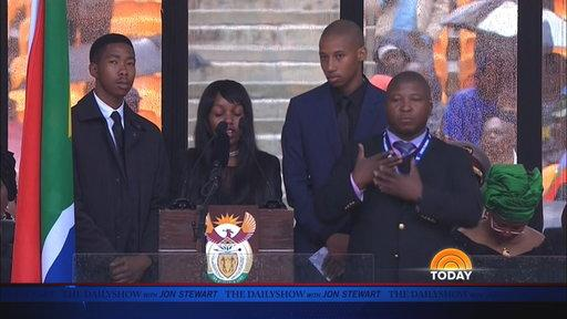 Moment of Zen: Sign Language & Mandela's Funeral