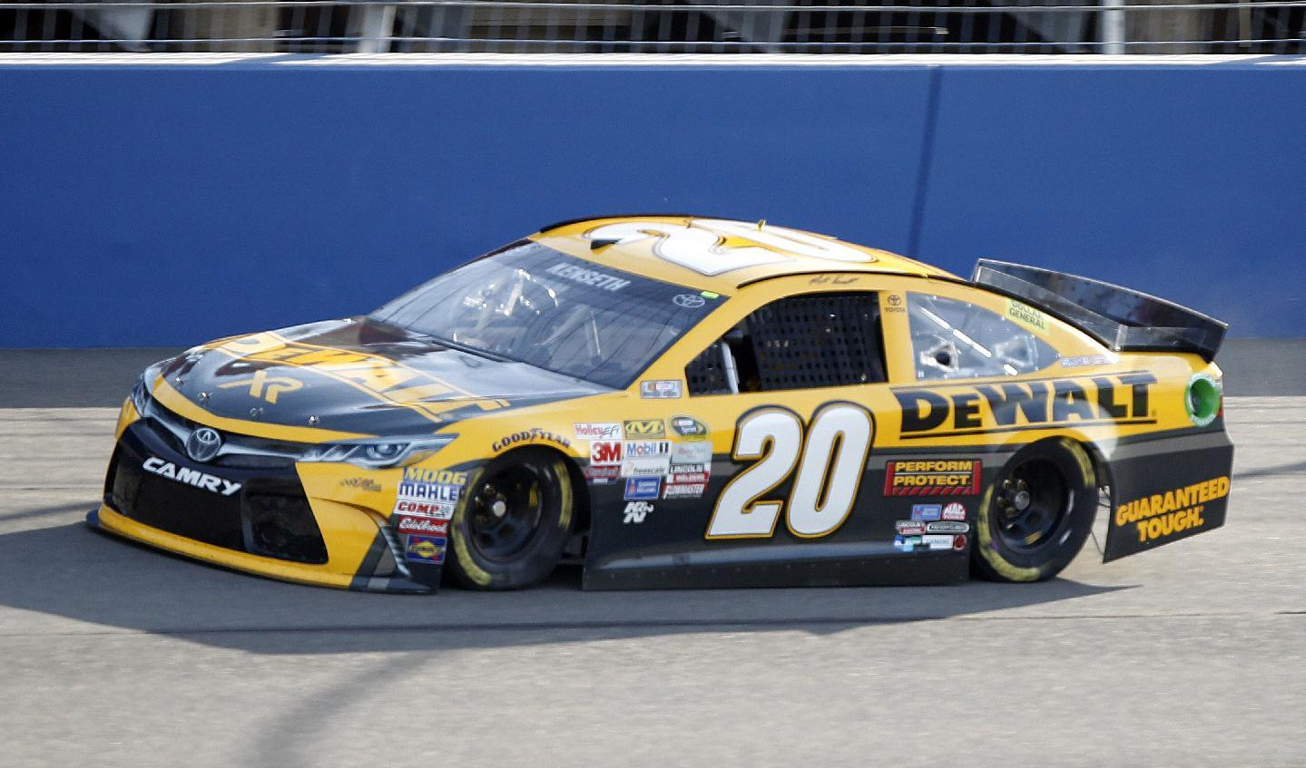 Matt Kenseth wins pole for Coca-Cola 600