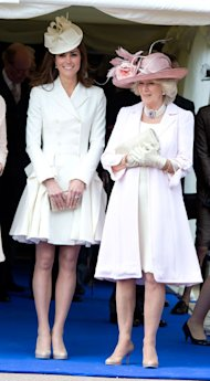 Kate Middleton wears Alexander McQueen coat dress & Jane Corbett hat for Order of The Garet Service