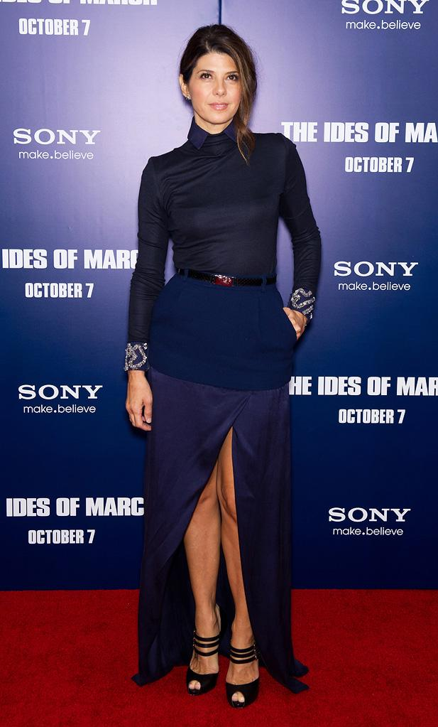 The ides of March 2011 NY Premiere Marisa Tomei