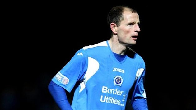 Allan Johnston spent five years as a player at Kilmarnock