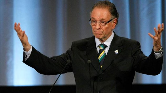 Carlos Nuzman, Rio de Janeiro 2016 President, presents the city of Rio de Janeiro's candidature for the 2016 Olympic Games to International Olympic Committee (IOC) members during the 121st IOC session in Copenhagen REUTERS