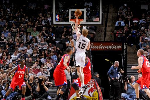 Parker scores 21 as Spurs beat 76ers 93-76
