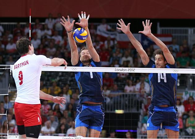 Olympics Day 2 - Volleyball