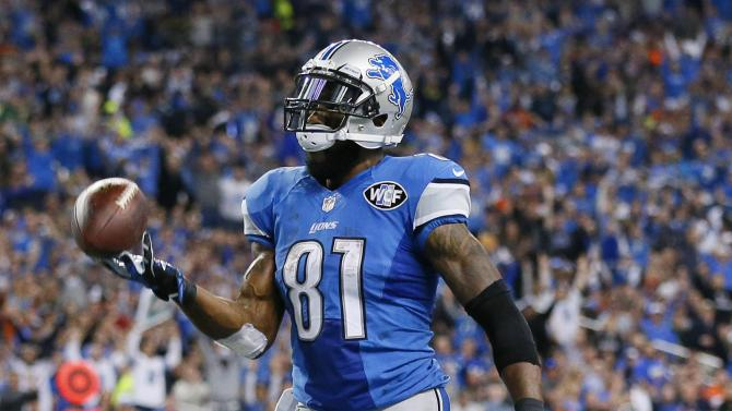 Lions' Johnson fastest to 10,000 yards receiving
