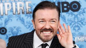 Ricky Gervais Unveils 'Learn English' Trailer Preview (Video)