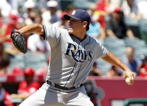 Rays beat Greinke, complete 4-game sweep of Angels