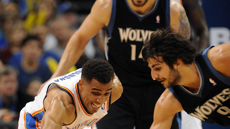 NBA: Minnesota Timberwolves at Oklahoma City Thunder