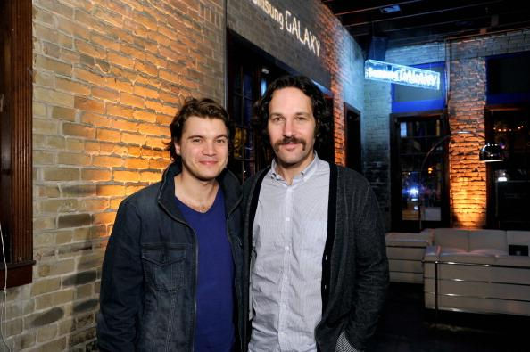 Emile Hirsch and Paul Rudd