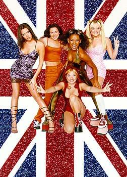 Posh ( Victoria Beckham ), Sporty ( Melanie Chisholm ), Scary ( Melanie Brown ), Ginger ( Geri Halliwell ) and Baby ( Emma Bunton ) Spice are The Spice Girls in Spice World