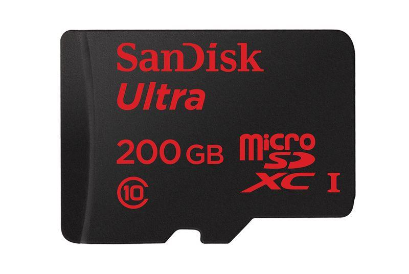 Sandisk's new 200GB microSD card has more capacity than most laptops