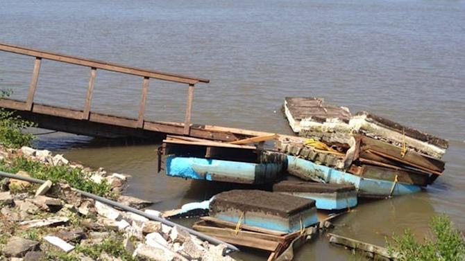 NJ bridge reopens after getting rammed by runaway barge