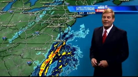 Hurricane Sandy on track to strike late Sunday