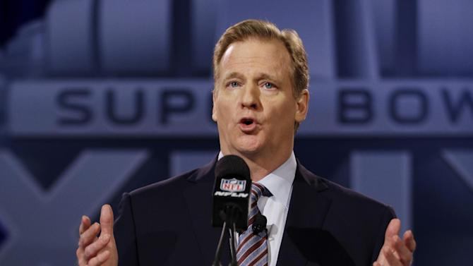 NFL's Goodell seeks to look past 'tough year,' to future