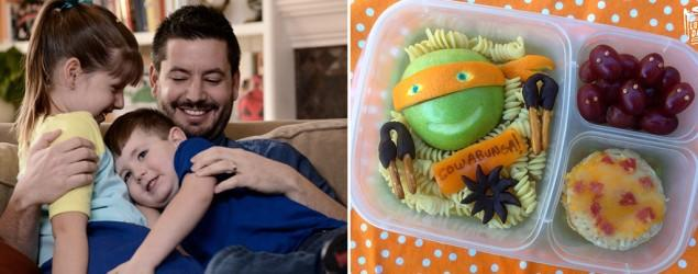 'Lunch Box Dad's' inspiring meals for kids