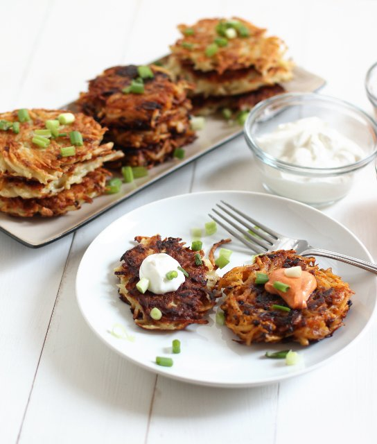 Ko-Jew Kimchee Latkes