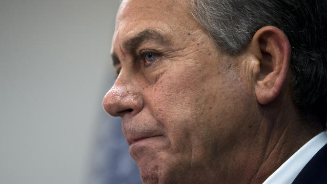 Boehner says no 'lines in the sand' on debt limit