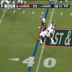 Nick Marshall's Game-Tying Touchdown Pass