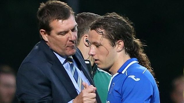 Tommy Wright, left, may have to find a replacement for Stevie May, right