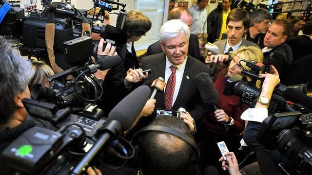 Gingrich's Headquarters May Be Empty, But Campaign Says They Are Going Strong