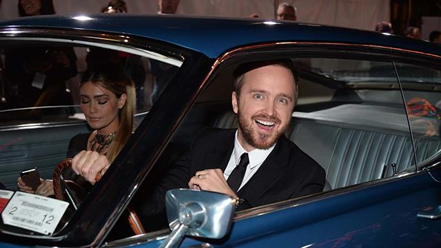 Aaron Paul's 'Need For Speed' Hollywood Premiere